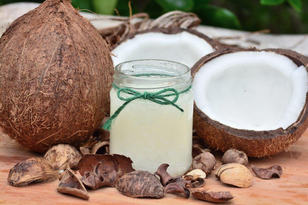 Huile de noix de coco pure
